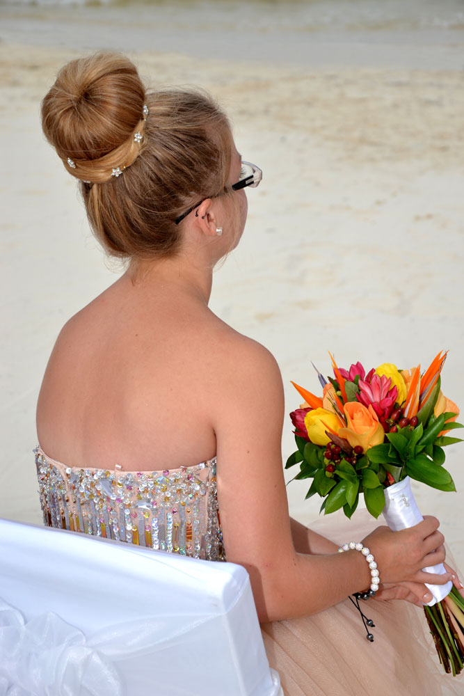 Wedding Hairstyles cancun