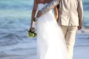 wedding photos in cancun
